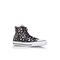 Converse - Black 'Ct animal hi' high top sneaker