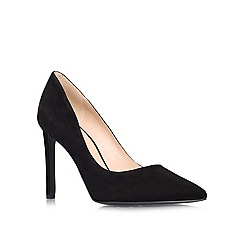 Nine West - Black 'Tatiana' high heeled courts