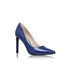 Nine West - Blue 'tatiana3' high heel court shoe