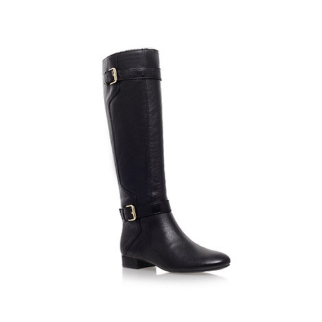 Nine West - Black +punter n+ flat knee boots