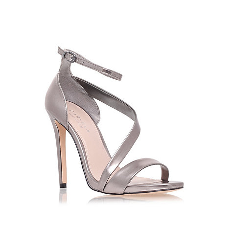 Carvela - Gunmetal +gosh+ mid heel sandals