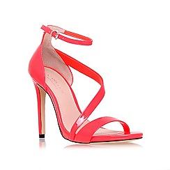 Carvela - Orange 'gosh' mid heel sandals