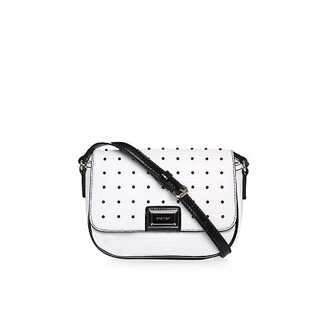 Nine West - White +showstopper+ small crossbody bag
