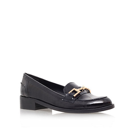 Carvela - Black +leonard+ flat loafer shoes