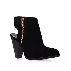 Carvela - Black 'shy' high heel ankle boots