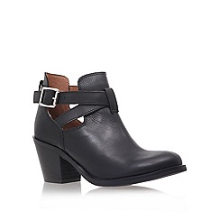 Carvela - Black 'sam' mid heel ankle boots