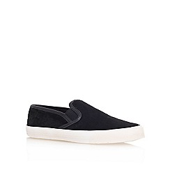 Carvela - Black ' Lorenzo ' Flat Low Top Trainers