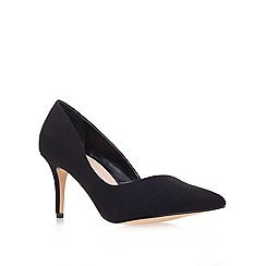 Carvela - Black 'abyss' mid heel court shoes