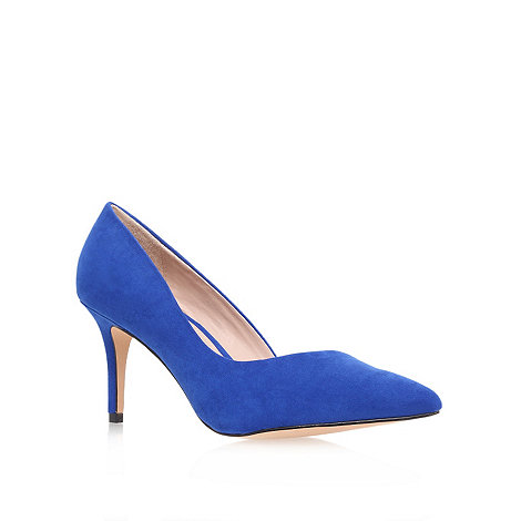 Carvela - Blue +abyss+ mid heel court shoes