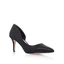 Carvela - Black 'Gin' mid heel court shoes