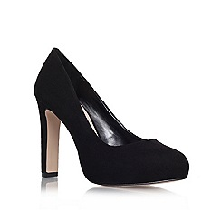 Carvela - Black 'Aware' high heel court shoes
