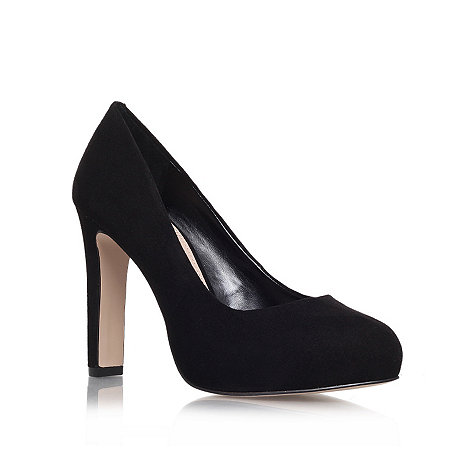 Carvela - Black +Aware+ high heel court shoes