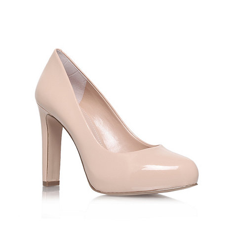 Carvela - Nude +Aware+ high heel court shoes