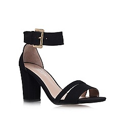 Carvela - Black 'Carly' high heel sandals