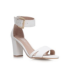 Carvela - White 'Carly' high heel sandals