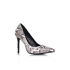 KG Kurt Geiger - Beige 'Bailey' high heel court shoes