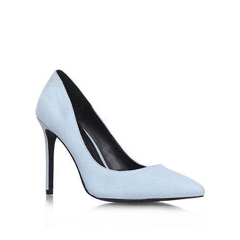 KG Kurt Geiger - Blue +Bailey+ high heel court shoes