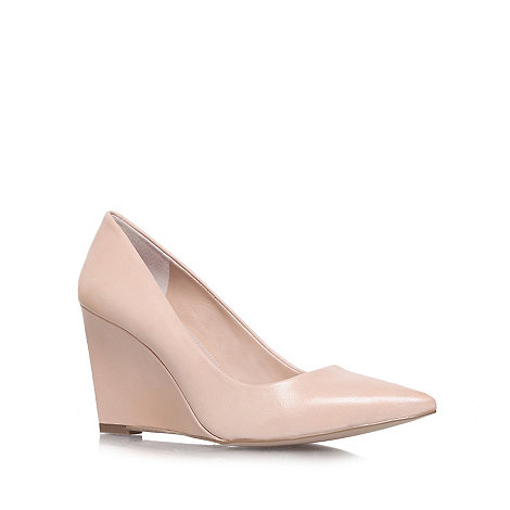 Carvela - Nude +Abbie+ high heel court shoes