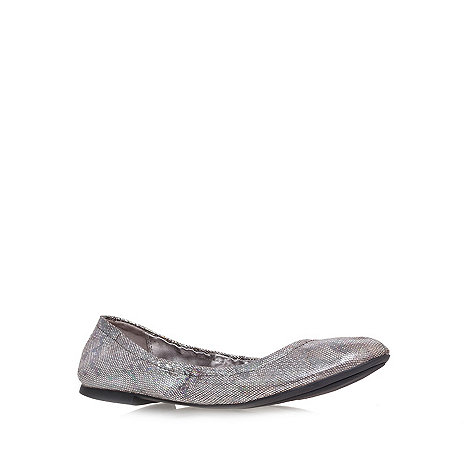 Nine West - Gunmetal +andheart3+ flat shoes
