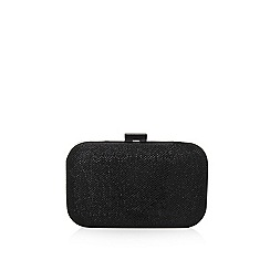 Carvela - Black 'darcy' box clutch bag