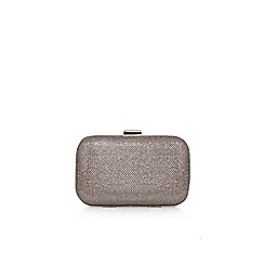 Carvela - Gold 'darcy' box clutch bag