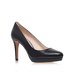 Nine West - Black 'beautie20' high heel court shoes
