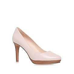 Nine West - Nude 'Beautie20' high heel court shoes