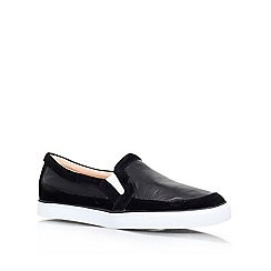 Nine West - Black 'Brodie' Leather slip on