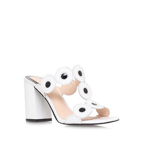 Nine West - White +Jamielynn+ high heel sandals