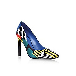 Nine West - Blue 'tatiana2' high heel court shoe