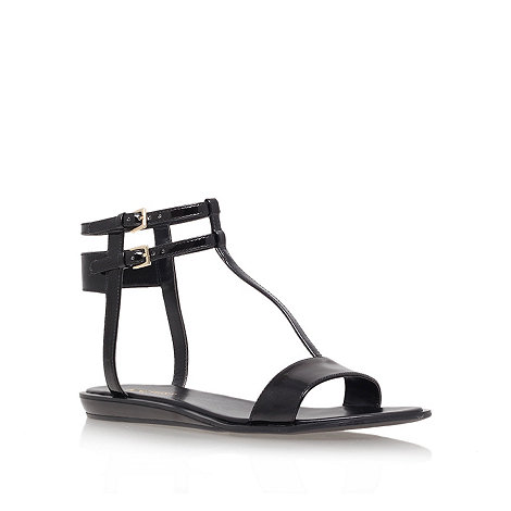 Nine West - Black +veronique+ flat sandals