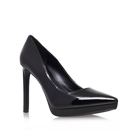 Nine West - Black +red violet3+ high heel court shoes