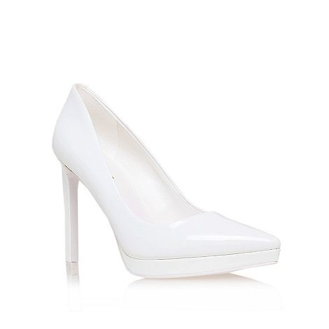 Nine West - White +red violet3+ high heel court shoes