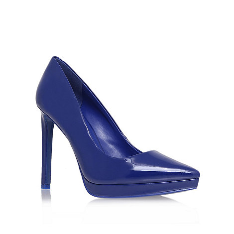 Nine West - Blue +red violet+ high heel court shoes