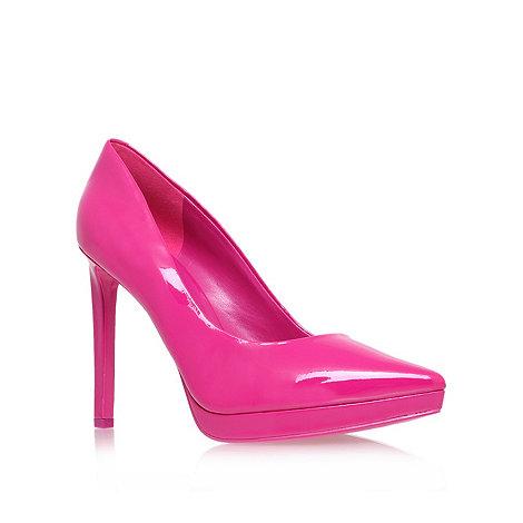 Nine West - Pink +red violet3+ high heel court shoes