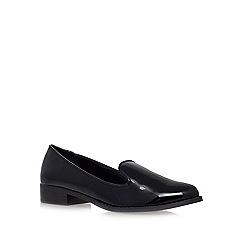Miss KG - Black 'Neptune' flat slipper shoes