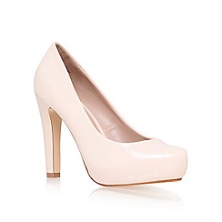 Miss KG - Nude 'Annie' high heel court shoes