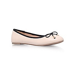 Miss KG - Nude 'Nel' flat ballerina shoes
