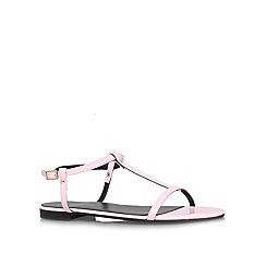 KG Kurt Geiger - Pink 'Match' flat sandals