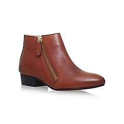 KG Kurt Geiger - Brown 'Sally' Flat Ankle Boots