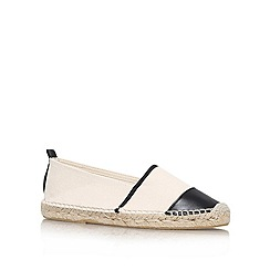 KG Kurt Geiger - Black 'Madison' flat espadrilles