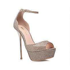 Miss KG - Champagne 'Electra' High Heel Platform Shoes