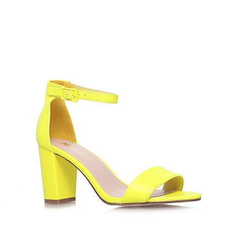 Miss KG - Lime +Paige+ mid heel sandals