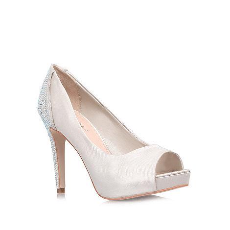 Carvela - Nude +Juliette+ high heeled court shoes