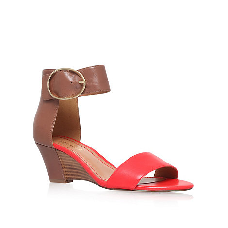 Nine West - Red +Ventana+ mid heel sandals