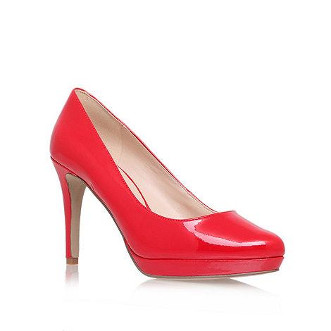 Nine West - Red +beautie23+ mid heel court shoes