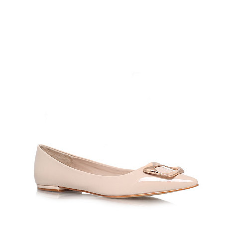 Carvela - Nude +Lassie+ flat slipper shoes