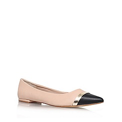 Carvela - Nude 'Lyric' flat slipper shoes