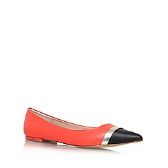 Carvela - Orange 'Lyric' flat slipper shoes