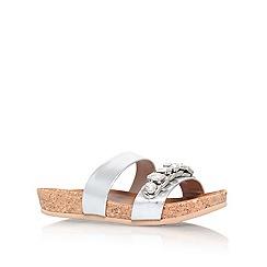Carvela - Silver 'kick' flat sandals